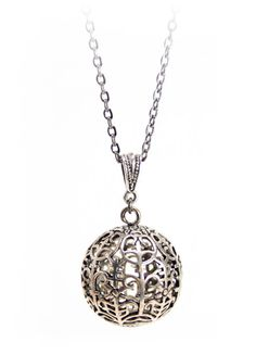 We love the movie Rosemarys Baby. In the movie, there is a pendant necklace…
