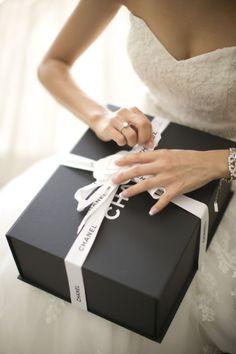 chanel wedding gift