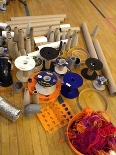 Fab materials to create with at Sackett Street Recreation Center image shared by Partnership for Providence Parks Learning Through Play, Learning Centers, Early Learning, Infant Activities, Preschool Activities, Deconstructed Role Play, Preschool Block Area, Heuristic Play, Block Center