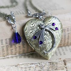 Blue Dream Locket
