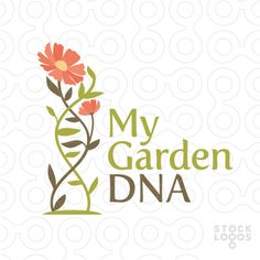 Exclusive Customizable Logo For Sale: My Garden DNA | StockLogos.com