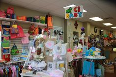 our baby section has a new look and new things! come check it out!