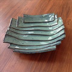 Most current Cost-Free slab Ceramics inspiration Style Amy Cohn Pottery Plates, Slab Pottery, Ceramic Pottery, Pottery Art, Thrown Pottery, Pottery Studio, Pottery Wheel, Ceramic Clay, Ceramic Bowls