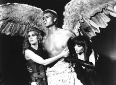 Jane Fonda, John Phillip Law and Anita Pallenberg in 'Barbarella', directed by Alan Pakula, 1968