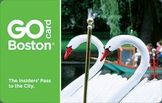 The Go Boston® Card is the best choice for maximum savings and flexibility. Save up to 55% off retail prices on admission to over 45 attractions for one low price. All 3, 5, or 7 day passes include a bonus choice of a Boston Duck Tour, Whale Watch Cruise, Boston Red Sox game with early park access, or a full-day guided bus tour. Enjoy the flexibility to choose attractions as you go and do as much as you want each day.