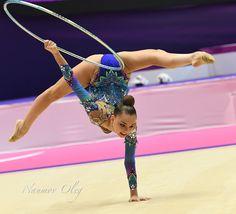 Arina Averina (Russia) won GOLD in hoop at Grand Prix (Holon) 2018