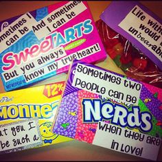 valentines. These are too cute and corny :)