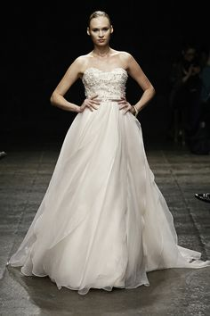 31ed6859 Jim Hjelm Spring 2013 Bridal Collection. White Wedding Dresses, Jim Hjelm  Wedding Dresses,
