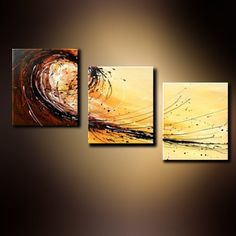 Oil Painting Wall Art on Canvas - Abstract PTG3057