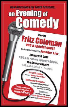 fritz coleman comedy night ndy