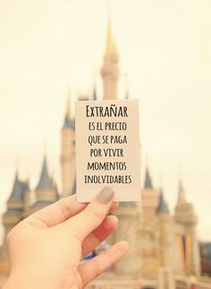 Home - Mejores Frases More Than Words, Spanish Quotes, Disney Trips, Disney Parks, Walt Disney, Disney Love, Disney Magic, Wise Words, Favorite Quotes