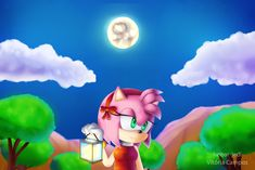 Amy and lighting by heitor-jedi