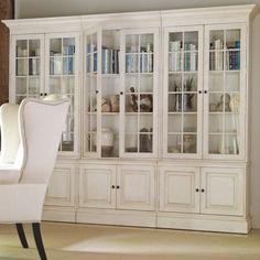 ethanallen.com - collector's classics villa 3-piece library unit | ethan allen | furniture | interior design