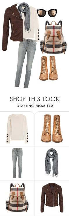 """Perfect Friday"" by cmoligar on Polyvore featuring See by Chloé, dVb Victoria Beckham, H&M, Burberry and Miss Selfridge"