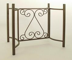 Handmade Wrought Iron Table Base T1033