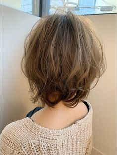 Pin on Peinados Haircuts For Curly Hair, Funky Hairstyles, Short Bob Hairstyles, Japanese Short Hair, Medium Hair Styles, Short Hair Styles, Hair Arrange, Hair Setting, Short Hair Cuts For Women