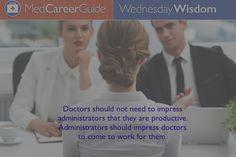 #WednesdayWisdom http://jobs.medcareerguide.com/