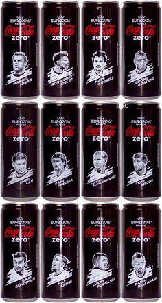 Die Mannschat Coca Cola Zero Cans Eurocup2016