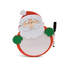 Pizarra goma EVA Papá Noel