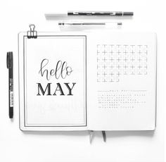 Bullet Journal 2.0: The Monthly Log - The Petite Planner