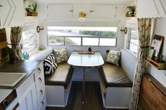 This Couple (and their Goldendoodle) Call Elsie the 120 Square Foot Trailer Home