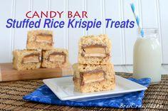 Inside BruCrew Life: Candy Bar Stuffed Rice Krispie Treats