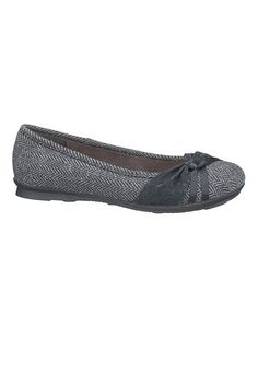 khloe wide width comfort ballet flat with lace (original price, $34) available at #Maurices