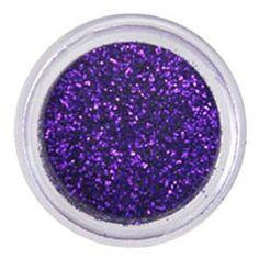 deeper purple edible glitter