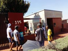 Mandela House. Riding Bicycles in Soweto – Let's Talk Food with Vuyo