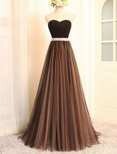 Wedding Dresses Ball Gown, Charming Tulle Long Prom Dresses, A Line Evening Party Dress Vestido De Festa Longo, Elegant Formal Gown DressilyMe Black Evening Dresses, Black Prom Dresses, A Line Prom Dresses, Elegant Dresses, Sexy Dresses, Evening Gowns, Evening Party, Dress Black, Dresses Uk