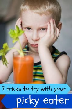 7 Tricks For Dealing With A Picky Eater via Tipsaholic.com #pickyeater #kids #tips