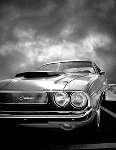 70/71 Challenger in Black and White