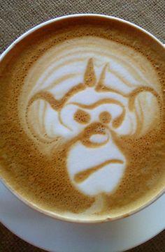 Monkey Latte Art →follow← my board ♡ͦ* ¢σffєє σвѕєѕѕє∂ ♡ͦ* @ ★☆Danielle ✶ Beasy☆★