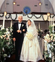 1991 The 90s saw a new obsession with wedding movies, ushered in by the release of Father of the Bride starring Steve Martin. The decade would also see the release of Four Weddings and a Funeral (1994), Muriel's Wedding (1994), My Best Friend's Wedding (1997), and Runaway Bride (1999).