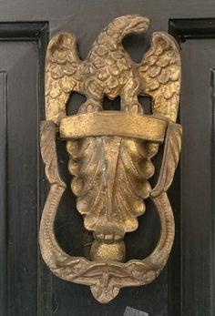Eagle door knocker - DC