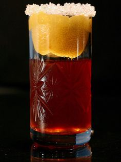 Rum Crusta Cocktail