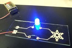 DIYer makes his own conductive ink, teaches you how to do the same