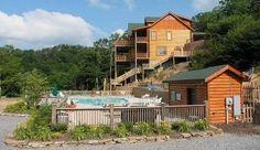 Cabin vacation rental in Pigeon Forge from VRBO.com! Bear Creek Lodge #165602 - 5 Bedrooms - Sleeps 20 - $300-500/nt - Communal Pool