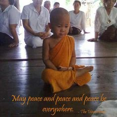 May Peace and Peace and Peace Be Everywhere <3