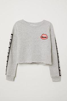 XL, Gray Cool Girls Strapless Star Sweatshirt Long Sleeve Asymmetrical Hem Crop Jumper Pullover Tops Snowfoller Simple Fashion Women Star Printed Pullover