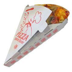 Envase porción pizzas take away genérica. Calidad cartón: Microcanal Blanco / Blanco http://www.ilvo.es/es/product/porcion-pizza-take-away---ref-114565