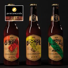 Bronze Pentaward 2014 – Beverages – A3 Studio