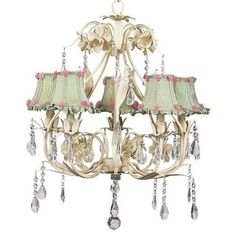 Price: $567.27 Jubilee 7903-2710 5 Light Ballroom Chandelier, Ivory - Bold, but elegant. This 5-arm chandelier features a pear-shaped base lined in leaves. Simple raindrop crystals add a touch of class and femininity to a chandelier that is perfect for a small dining room or bathroom.