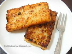The Little Teochew: Singapore Home Cooking: Homemade Radish Cake (Lor Pak Kou)