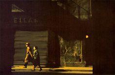 Harry Callahan (EUA, 1912-1999): Couple Walking Down Street