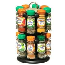 Schwartz 2 Tier Revolving 16 Spice Rack