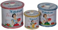 Winnie the Pooh Garden 3 Piece Bon Appétit Tin Set Hazelwood Home First Kitchen, Buy Kitchen, Jar Storage, Storage Boxes, Olive Oil Jar, Stainless Steel Canisters, Kitchen Canister Sets, Wash Tubs, Office Furniture Stores