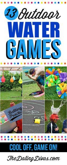 13 Outdoor Water Games