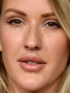 ellie goulding ellie goulding red carpet makeup celeb celebrity celebritycloseup