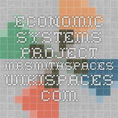 Economic Systems Project  mrsmithspaces.wikispaces.com